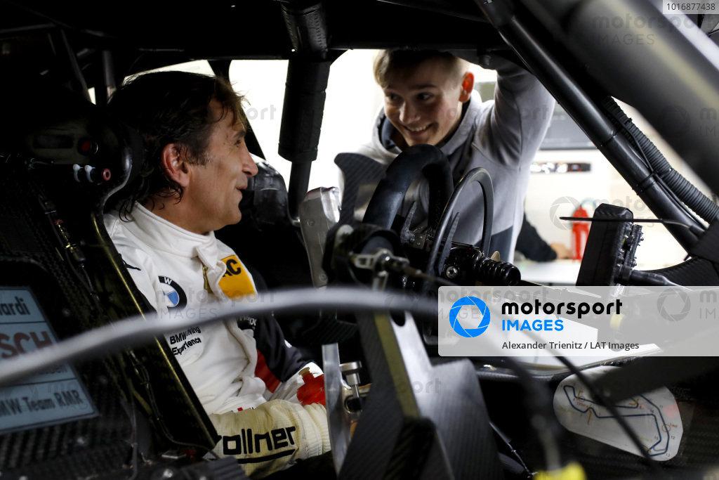 Alex Zanardi, BMW Team RMR with Billy Monger.