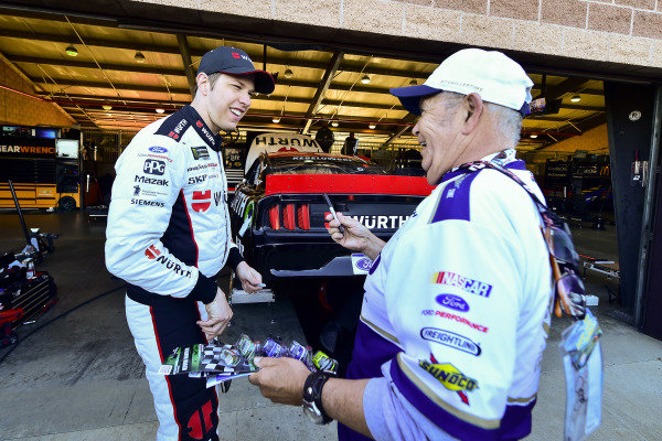 #2: Brad Keselowski, Team Penske, Ford Mustang Wurth