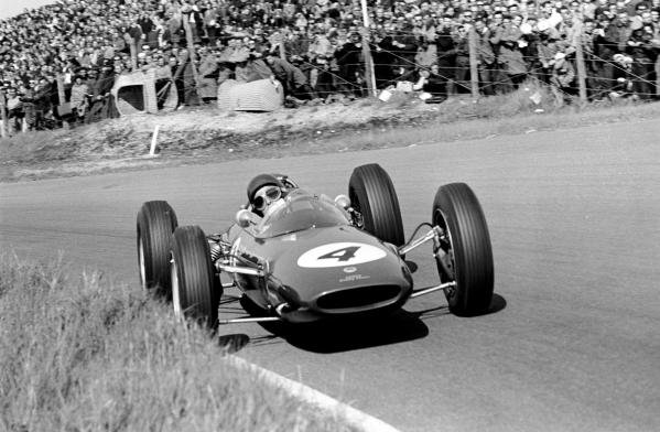 Jim Clark (GBR) Lotus 25 Climax
