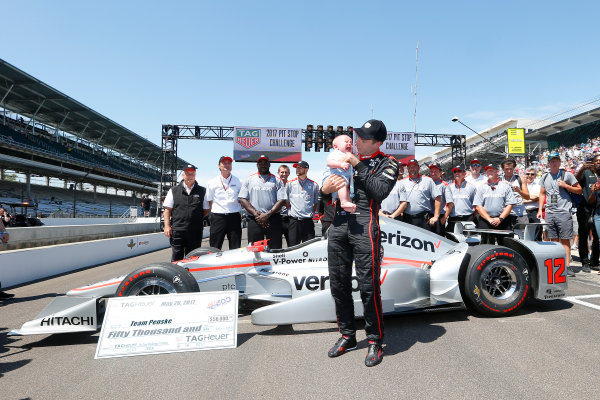 Verizon IndyCar Series Indianapolis 500 Carb Day Indianapolis Motor Speedway, Indianapolis, IN USA Friday 26 May 2017  World Copyright: Russell LaBounty LAT Images