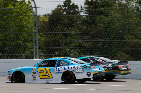 NASCAR XFINITY Series Pocono Green 250 Pocono Raceway, Long Pond, PA USA Saturday 10 June 2017 Daniel Hemric, Blue Gate Bank Chevrolet Camaro World Copyright: Matthew T. Thacker LAT Images ref: Digital Image 17POC1mt1328