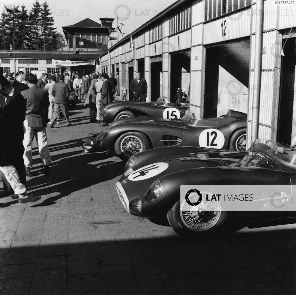 Nurburgring , Germany. 26 May 1957.