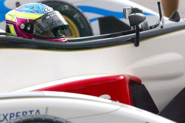 Oliver Jarvis (GBR) Carlin Motorsport British Formula Three, Thruxton, England.23rd September 2006DIGITAL IMAGE
