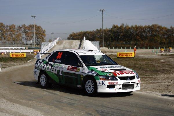 2007 FIA World Rally Champs. Round 14Rally Japan, 25th - 28th October 2007Mark Higgins, Mitsubishi, actionWorld Copyright: McKlein/LAT