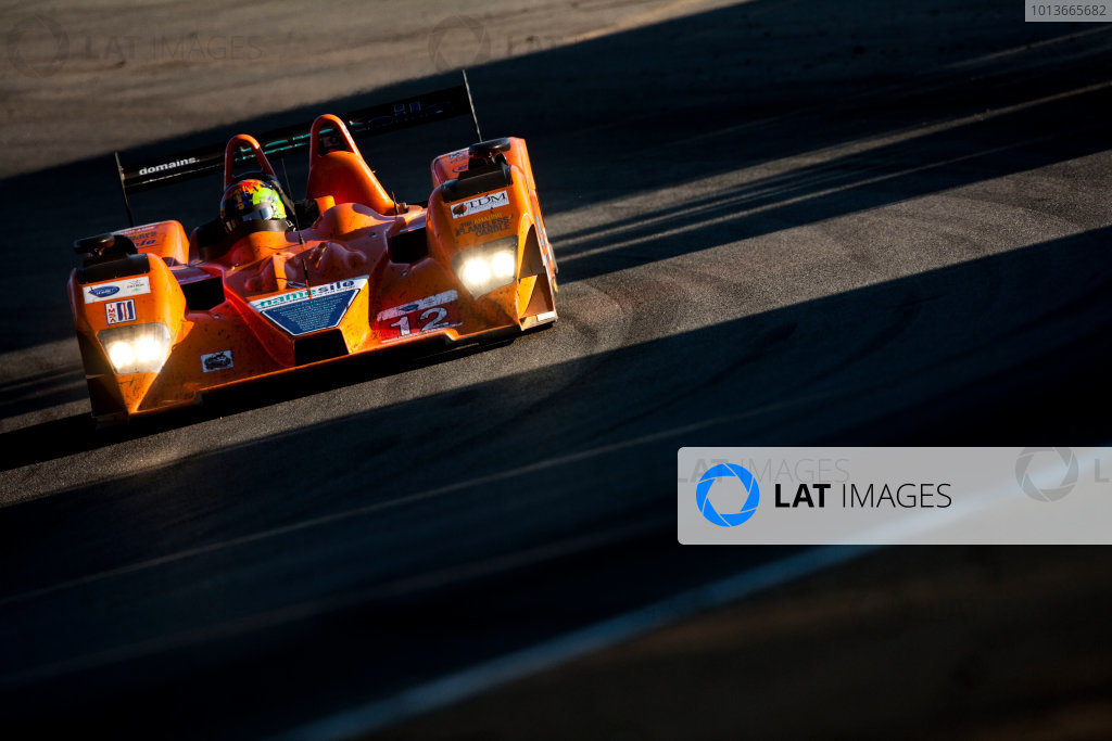 American Le Mans Series. Laguna Seca, Monterey, California. 15th - 17th September 2011. Tony Burgees / Chris McMurry / Bryan Wilman, Autocon, Lola B06/10. Action. Photo: Drew Gibson/LAT Photographic. ref: Digital Image _Y2Z6782