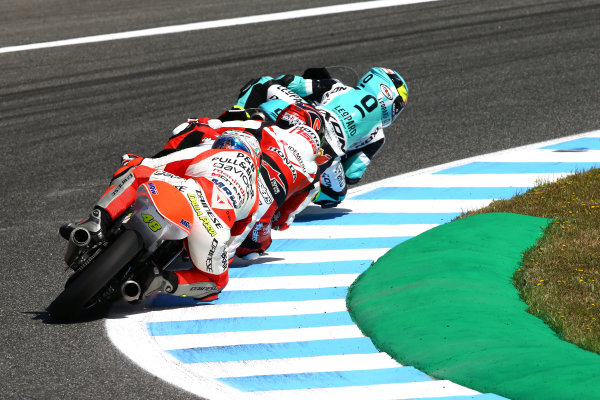2017 Moto3 Championship - Round 4 Jerez, Spain Sunday 7 May 2017 Lorenzo Dalla Porta, Aspar Team World Copyright: Gold & Goose Photography/LAT Images ref: Digital Image 16278