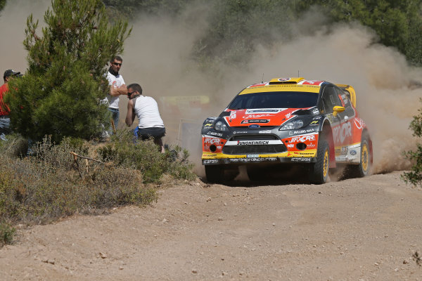 2013 FIA World Rally Championship Round 06-Acropolis rally of Greece 31/5-2/6-2013. Martin Prokop, Ford  WRC, Action. Worldwide Copyright: McKlein/LAT