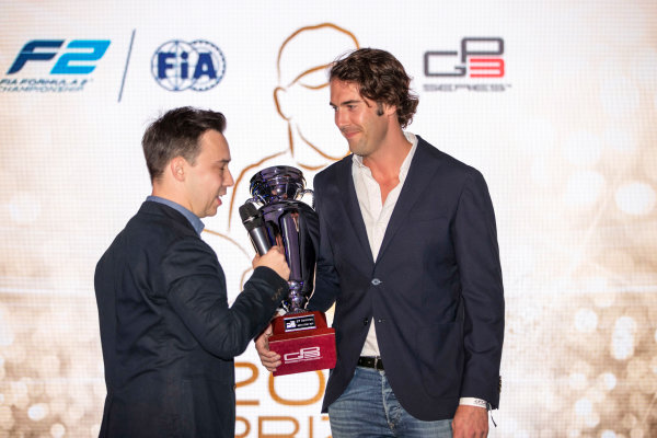 2017 Awards Evening. Yas Marina Circuit, Abu Dhabi, United Arab Emirates. Sunday 26 November 2017.  Photo: Zak Mauger/FIA Formula 2/GP3 Series. ref: Digital Image _56I3708