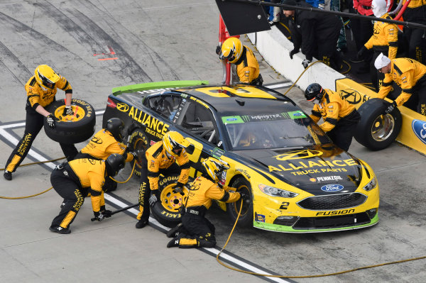 Monster Energy NASCAR Cup Series First Data 500 Martinsville Speedway, Martinsville VA USA Sunday 29 October 2017 Brad Keselowski, Team Penske, Alliance Truck Parts Ford Fusion World Copyright: Nigel Kinrade LAT Images
