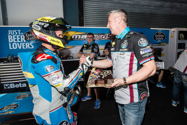 Thomas Luthi, Estrella Galicia 0,0 Marc VDS with 250 GP starts.