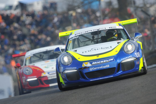 2016 Porsche Carrera Cup Brands Hatch, 2nd-3rd April 2016, Stephen Jelley World copyright. Jakob Ebrey/LAT photographic