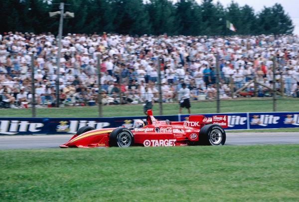 1997 PPG CART World Series.Mid-Ohio, Lexington, Ohio, USA.9-10 August 1997. Alessandro Zanardi (Chip Ganassi Racing/Reynard 97i Honda) 1st position.World Copyright - LAT Photographic