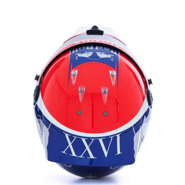 The 2019 helmet of Daniil Kvyat, Scuderia Toro Rosso