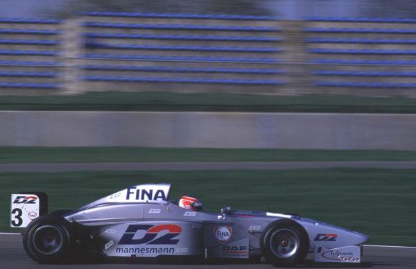 Silverstone, England. 22-23/3/2000. Nicolas Minassian, Super Nova Racing.  World - LAT Photographic