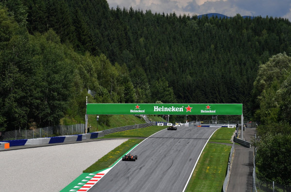 Fernando Alonso (ESP) McLaren MCL32 at Formula One World Championship, Rd9, Austrian Grand Prix, Practice, Spielberg, Austria, Friday 7 July 2017.