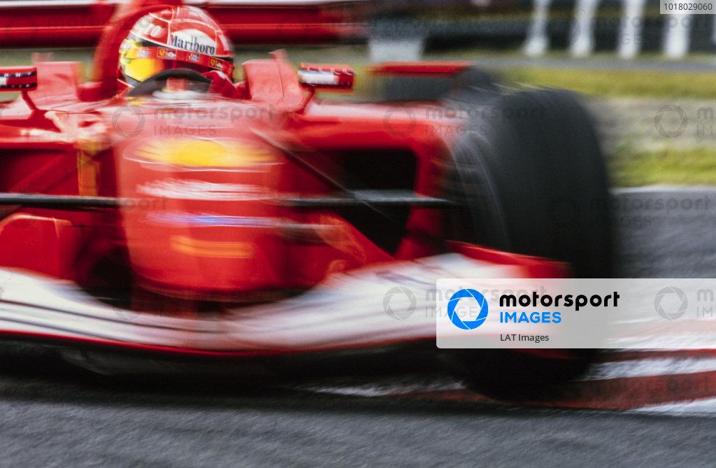 Michael Schumacher, Ferrari F2001.