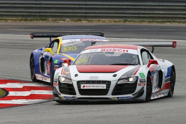 Johnson Huang (TPE) BC Racing at Audi R8 LMS Cup, Rd4, Sepang, Malaysia, 4-6 September 2015.