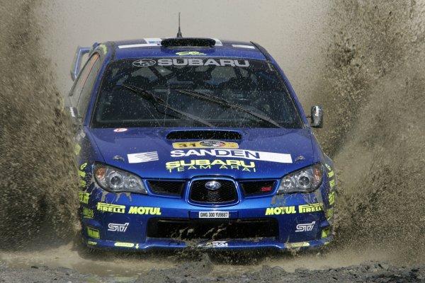 2006 FIA World Rally Champs. Round Three; Rally Mexico.; 2nd - 5th March 2006.Toshi Arai, Subaru PWRC, action World Copyright: LAT/McKlein