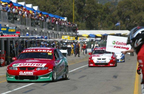 2002 Australian V8 SupercarsAdelaide Clipsal 500. Australia. 17th March 2002Action.World Copyright: Mark Horsburgh/LAT Photographicref: Digital Image Only