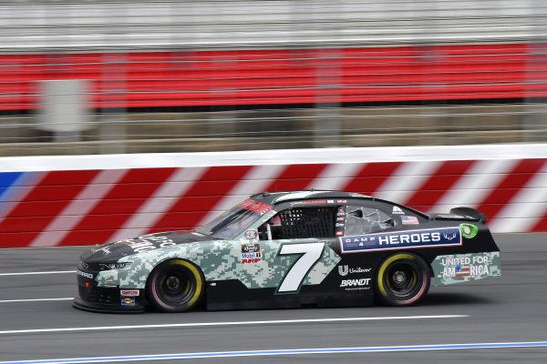 #7: Justin Allgaier, JR Motorsports, Chevrolet Camaro Unilever United For America