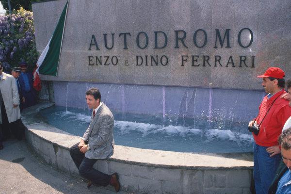 Imola, Italy.21-23 April 1989.Piero Ferrari, portrait.World Copyright: LAT Photographic.Ref:  Colour Transparency.
