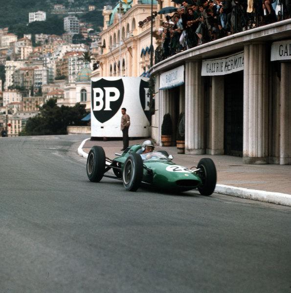 Monte Carlo, Monaco.31/5-3/6 1962.Jack Brabham (Lotus 24 Climax).Ref-3/0507.World Copyright - LAT Photographic