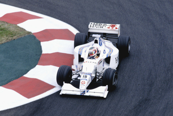 Magny-Cours, France. 26-28 June 1998.Rubens Barrichello (Stewart SF2 Ford).Ref-98 FRA 67.World Copyright - Martyn Elford/LAT Photographic