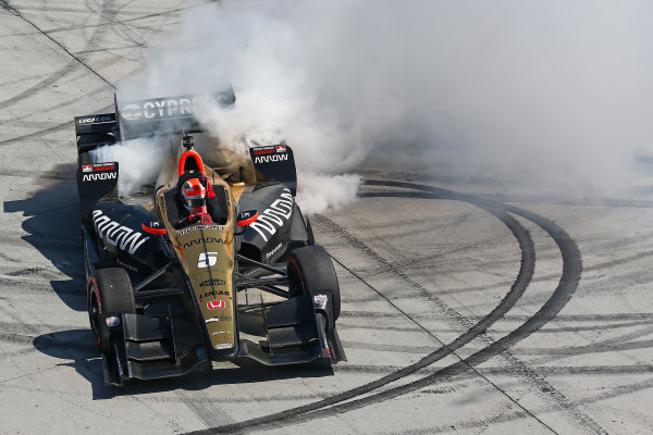 2017 Verizon IndyCar Series Toyota Grand Prix of Long Beach Streets of Long Beach, CA USA Sunday 9 April 2017 James Hinchcliffe World Copyright: Perry Nelson/LAT Images ref: Digital Image nelson_lb_0409_3843