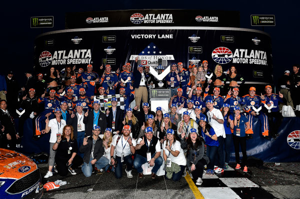 2017 Monster Energy NASCAR Cup Series - Fold of Honor QuikTrip 500 Atlanta Motor Speedway, Hampton, GA USA Sunday 5 March 2017 Brad Keselowski World Copyright: Rusty Jarrett/LAT Images ref: Digital Image 17ATL1rj_2866