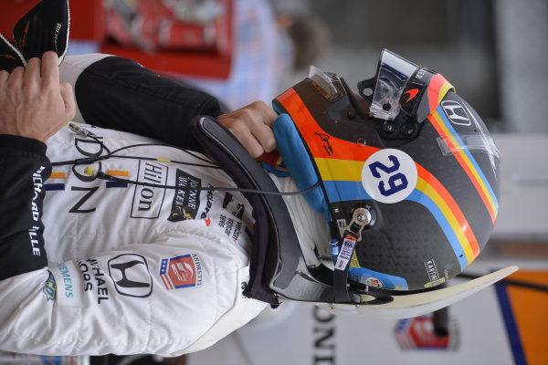 Alonso IndyCar Testing