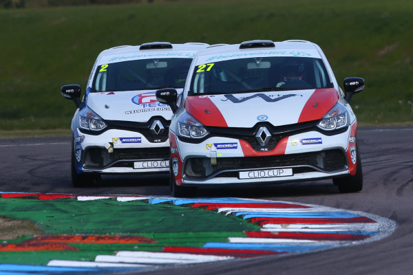 2017 Renault Clio Cup Thruxton, 6th-7th May 2017,  Nathan Harrison (GBR) JamSport Racing Renault Clio Cup World copyright. JEP/LAT Images
