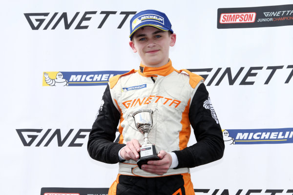 2017 Ginetta Junior championship  Thruxton, 6th-7th May 2017,  Harry King Elite Motorsport Ginetta Junior World copyright. JEP/LAT Images