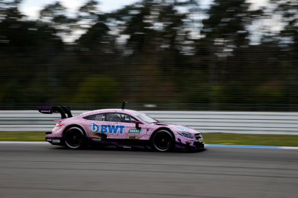 2017 DTM Testing & Media Day Hockenheim, Germany. Thursday 6 April 2017. Lucas Auer, Mercedes-AMG Team HWA, Mercedes-AMG C63 DTM. World Copyright: Alexander Trienitz/LAT Images ref: Digital Image 2017-DTM-MD-HH-AT1-0736