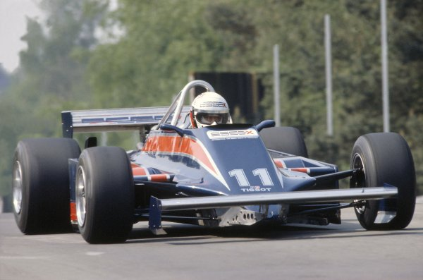 1981 Belgian Grand Prix.Zolder, Belgium. 15-17 May 1981.Elio de Angelis (Lotus 81B-Ford Cosworth), 5th position.World Copyright: LAT PhotographicRef: 35mm transparency 81BEL26