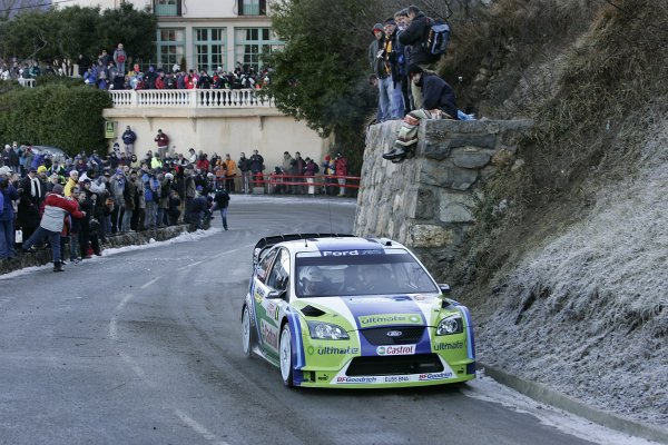 2006 FIA World Rally Champs. Round One, Monte Carlo Rally.19th - 22nd January 2006.Miko Hirvonen, Ford. Action.World Copyright: McKlein/LAT