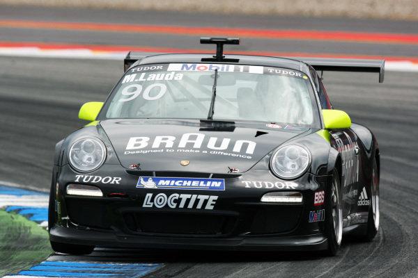 Mathias Lauda (AUT). Porsche Supercup, Rd 6, Hockenheim, Germany, 23-25 July 2010.