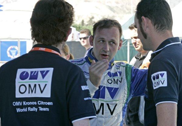 2007 FIA World Rally ChampionshipRound 8Acropolis Rally of Greece31/5-3/6  2007Manfred Stohl, Portrait, CitroenWorldwide Copyright: McKlein/LAT