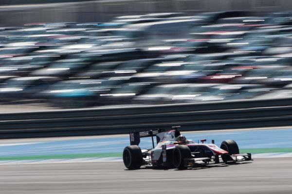 2017 FIA Formula 2 Round 10. Circuito de Jerez, Jerez, Spain. Sunday 8 October 2017. Nabil Jeffri (MAS, Trident).  Photo: Andrew Ferraro/FIA Formula 2. ref: Digital Image _FER3463