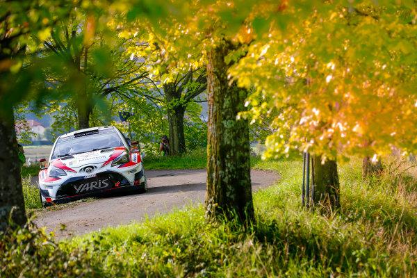 2017 FIA World Rally Championship, Round 10, Rallye Deutschland, 17-20 August, 2017, Jari-Matti Latvala, Toyota, action, Worldwide Copyright: McKlein/LAT