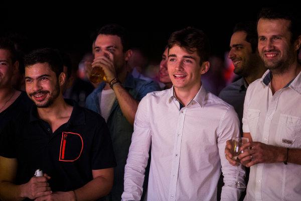 2016 GP2/3 Awards Evening. Yas Marina Circuit, Abu Dhabi, United Arab Emirates. Sunday 27 November 2016. Charles Leclerc Photo: Sam Bloxham/GP2 Series Media Service/GP3 Series Media Service. ref: Digital Image _SLB1756