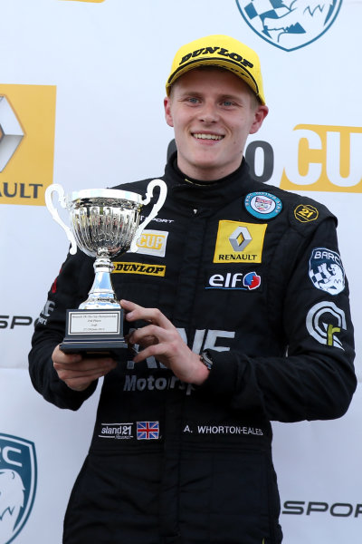 2015 Renault Clio Cup, Croft, 27th-28th June 2015, Ant Whorton Eales (GBR) SV Racing Renault Clio Cup  World copyright. Jakob Ebrey/LAT Photographic