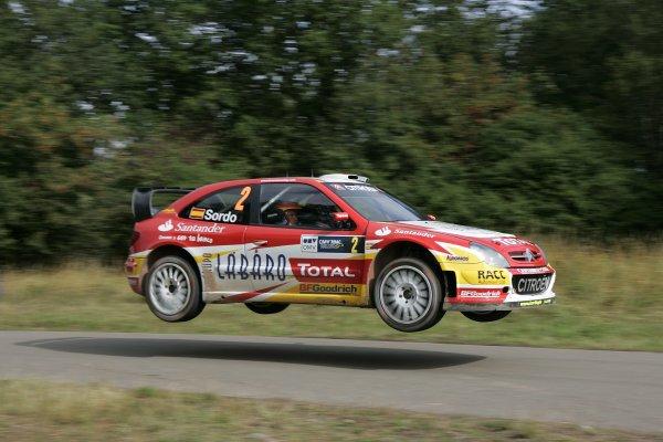 2006 FIA World Rally Champs. Round elevenDeutschland Rally.9th- 13th August 2006.Daniel Sordo, Citroen, action.World Copyright: McKlein/LAT