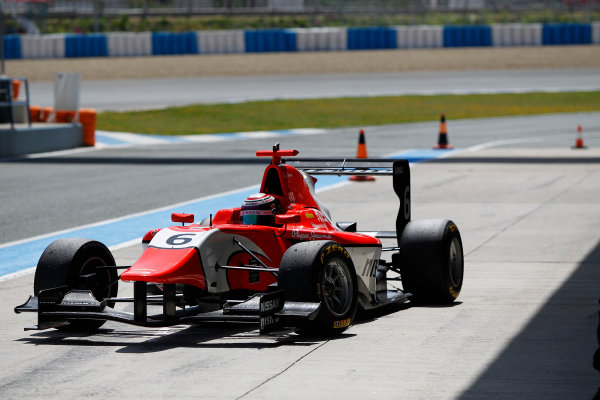 2014 GP3 Series Test 2. Jerez, Spain  Friday 11 April 2014. Jann Mardenborough (GBR, Arden International)  Photo: Sam Bloxham/GP3 Series Media Service. ref: Digital Image _G7C1797