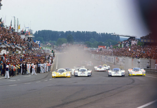 1986 Le Mans 24 hours.