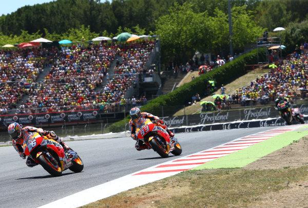 2017 MotoGP Championship - Round 7 Circuit de Catalunya, Barcelona, Spain Sunday 11 June 2017 Dani Pedrosa, Repsol Honda Team World Copyright: Gold & Goose Photography/LAT Images ref: Digital Image 677072