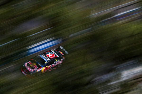 2015 V8 Supercars Round 14. Sydney 500, Sydney Olympic Park, Sydney, Australia. Friday 4th December - Sunday 6th December 2015. Jamie Whincup drives the #1 Red Bull Racing Australia Holden VF Commodore. World Copyright: Daniel Kalisz/LAT Photographic  Ref: Digital Image V8SCR14_SYDNEY500_DKIMG0268.JPG