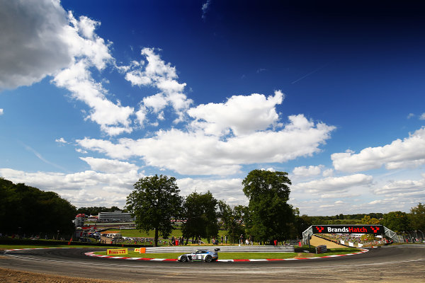 2017 British GT Championship, Brands Hatch, 5th-6th August 2017, Matt Manderson / Mike Brown - Mike Brown Racing Aston Martin Gt3  World Copyright. JEP/LAT Images
