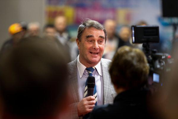 Autosport International Exhibition. National Exhibition Centre, Birmingham, UK. Sunday 14th January 2018. Nigel Mansell.World Copyright: Joe Portlock/LAT Images Ref: _U9I1600