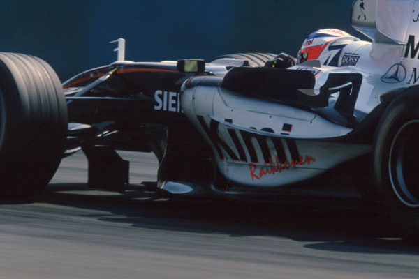 2005 Hungarian Grand Prix. Hungaroring, Hungary. 29th - 31st July 2005 Kimi Raikkonen, McLaren Mercedes MP4-20. Action. World Copyright: Michael Cooper/LAT Photographic Ref: 35mm Image A22