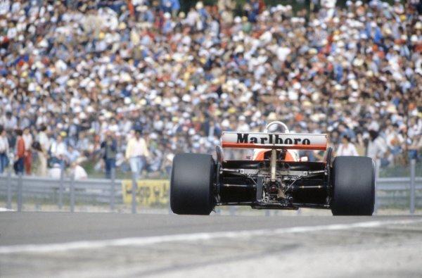 1981 French Grand Prix.Dijon-Prenois, France. 3-5 July 1981.Mario Andretti (Alfa Romeo 179B), 8th position.World Copyright: LAT PhotographicRef: 35mm transparency 81FRA17